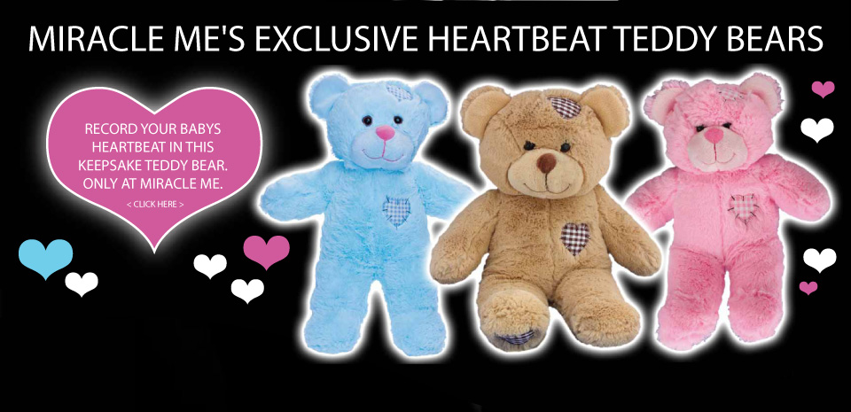 Miracle Me Heart Beat Teddy Bears